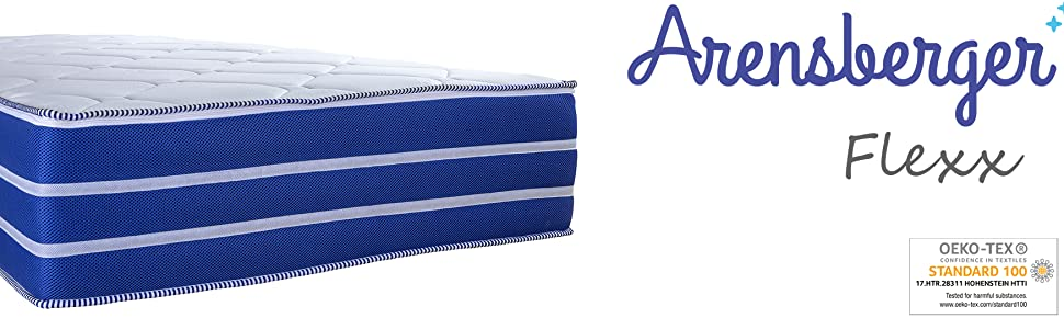 arensberger flexx mattress ergonomic for release back pain